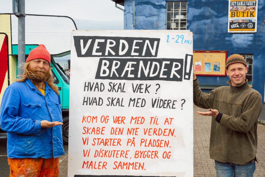Ærø Viser Vejen. Foto af Christian Brems