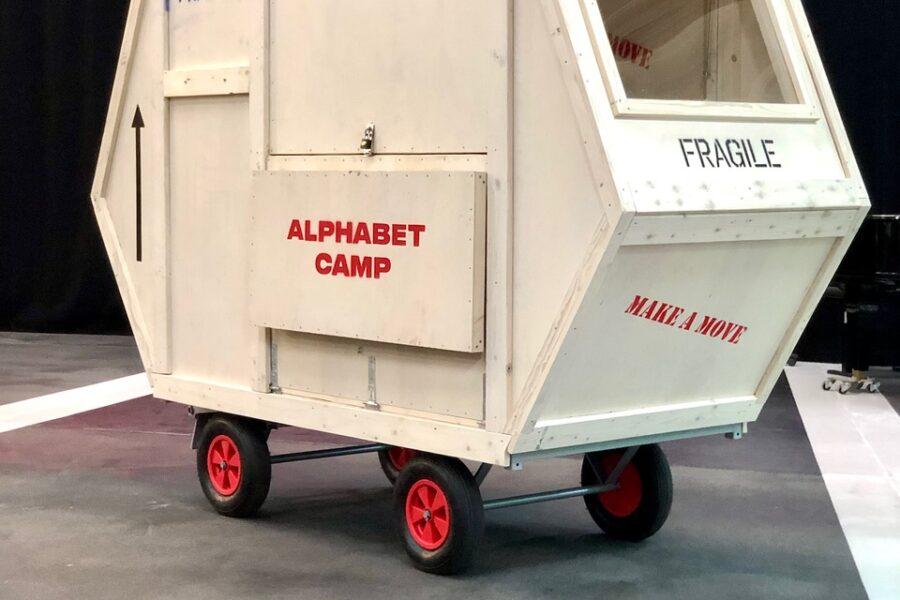 Alphabet Camp 3. Foto af Molly Haslund.