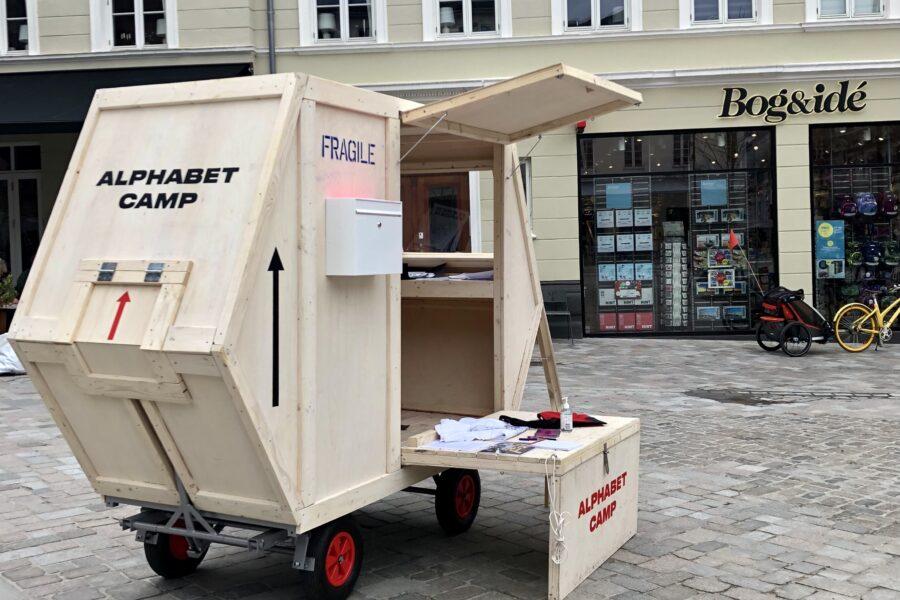 Mobil Camp i Vejle. Foto af Molly Haslund
