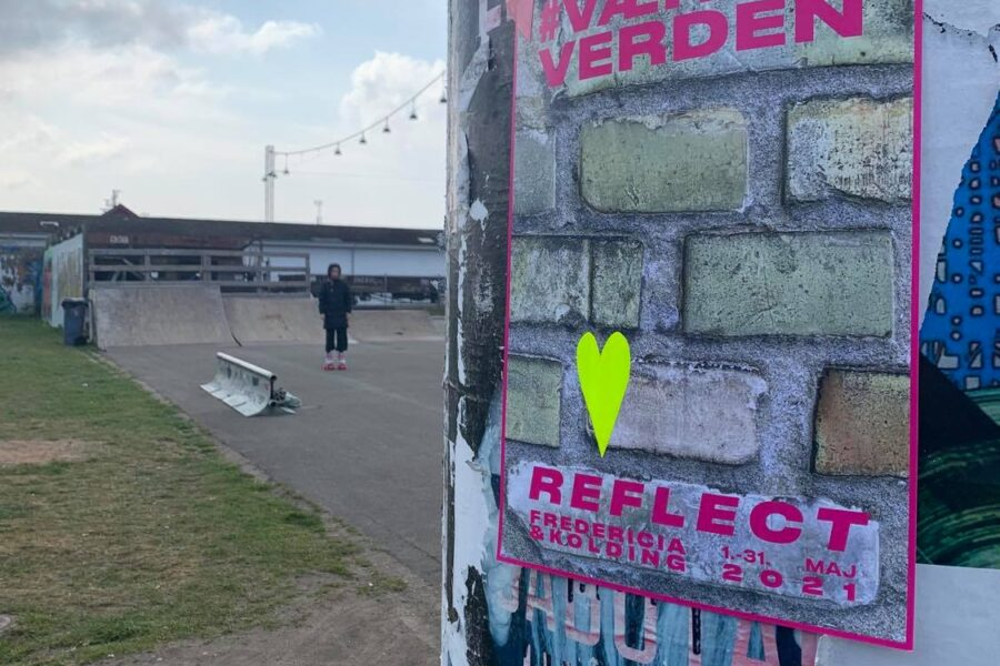 Plakater i Fredericia. Foto af Another Public